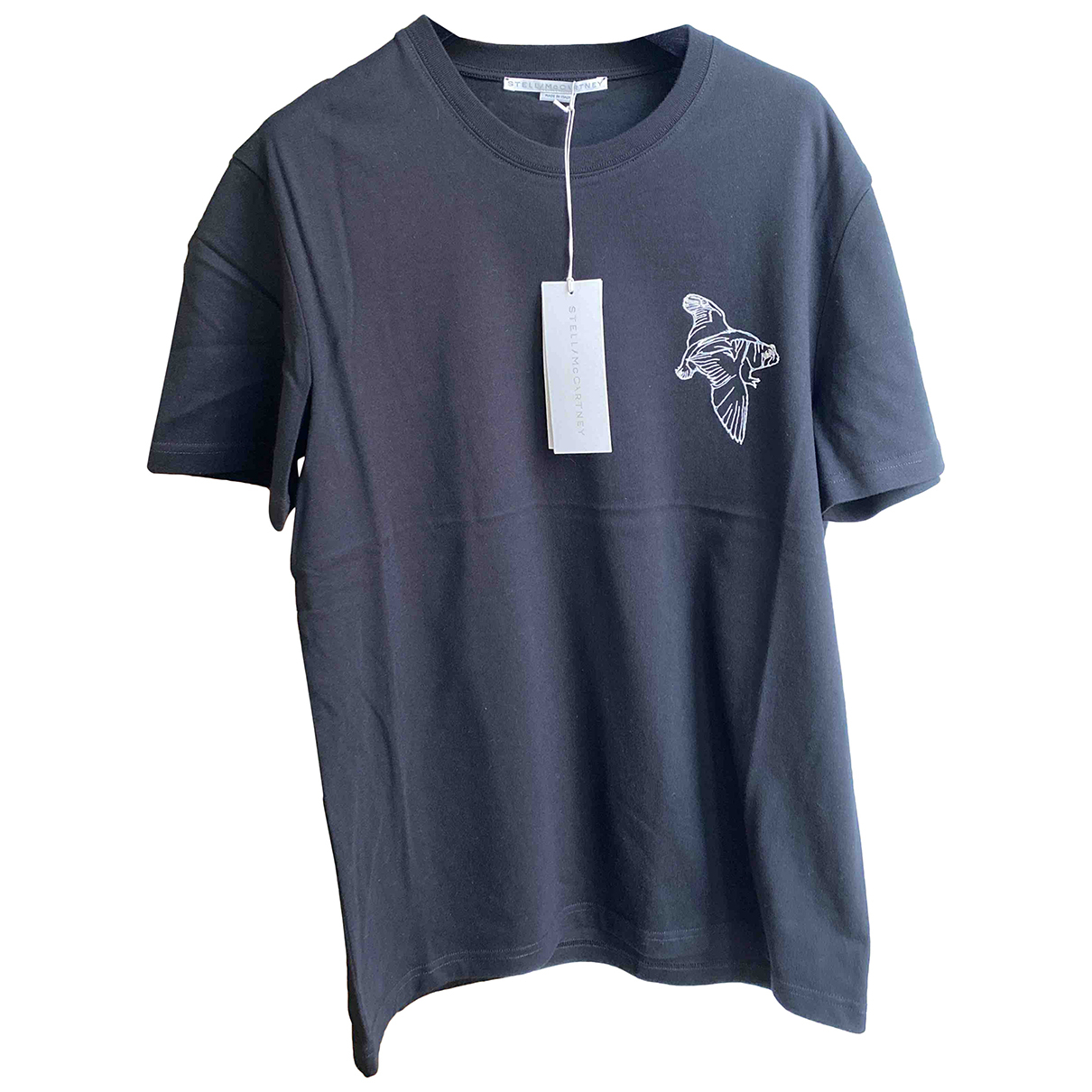 Stella Mccartney - Tee shirts   pour homme en coton - noir