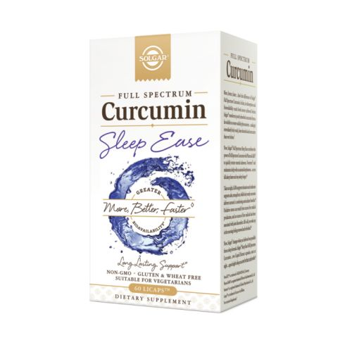 Full Spectrum Curcumin SleepEase 60 Licaps by Solgar