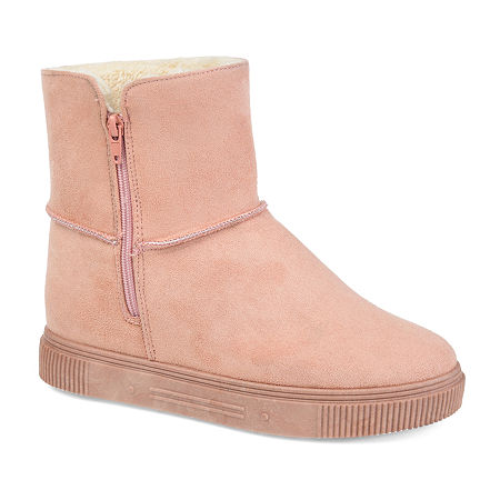 Journee Collection Womens Stelly Winter Boots, 9 Medium, Pink