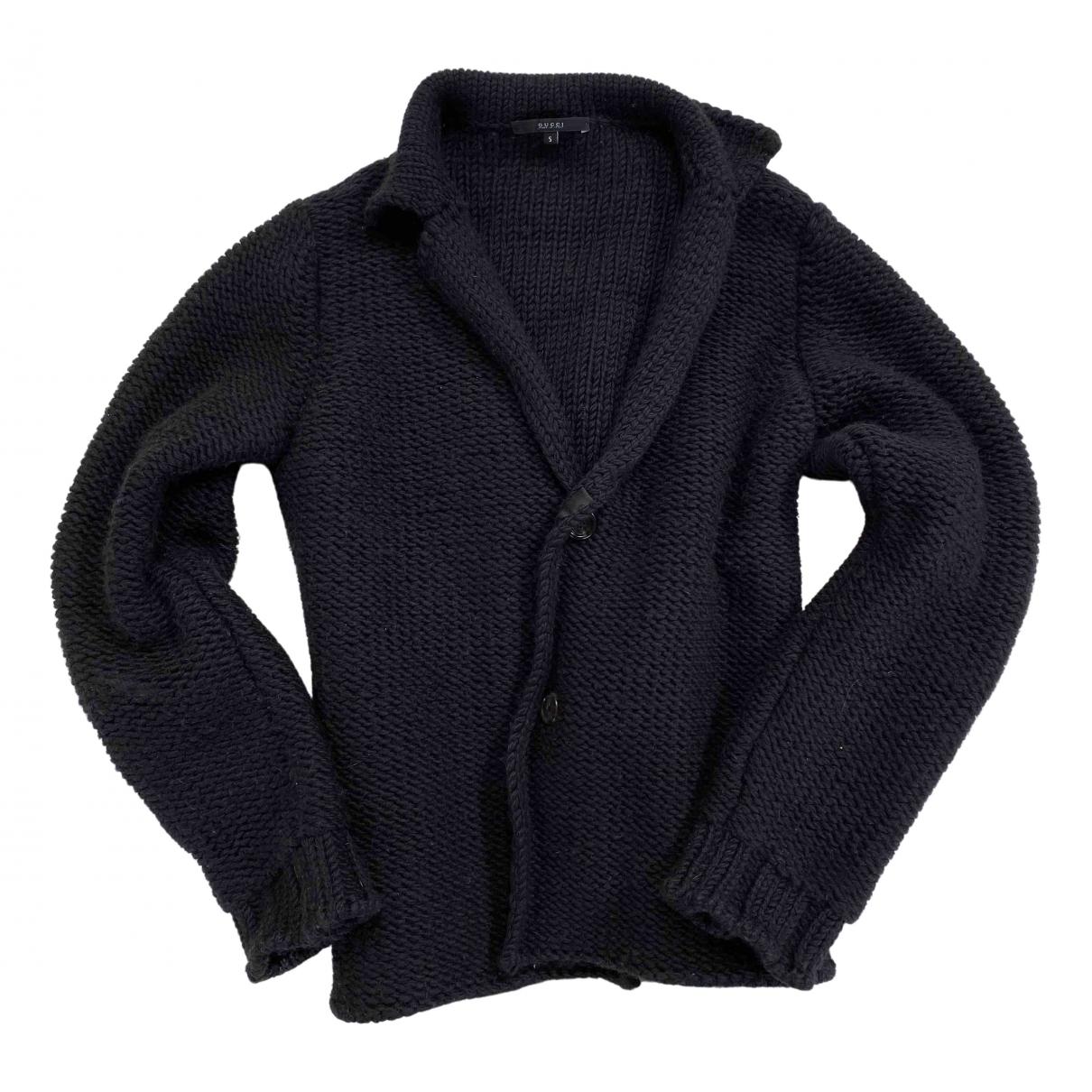 Gucci - Pulls.Gilets.Sweats   pour homme en laine - noir