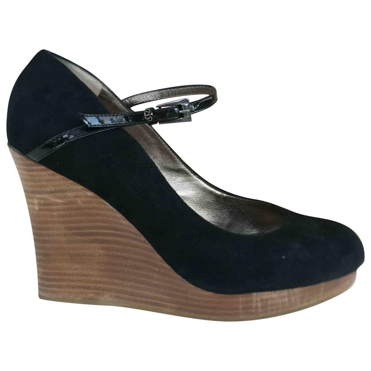 Juicy Couture - Escarpins   pour femme en suede - noir