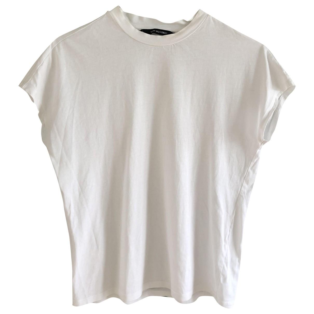 Won Hundred - Top   pour femme en coton - blanc