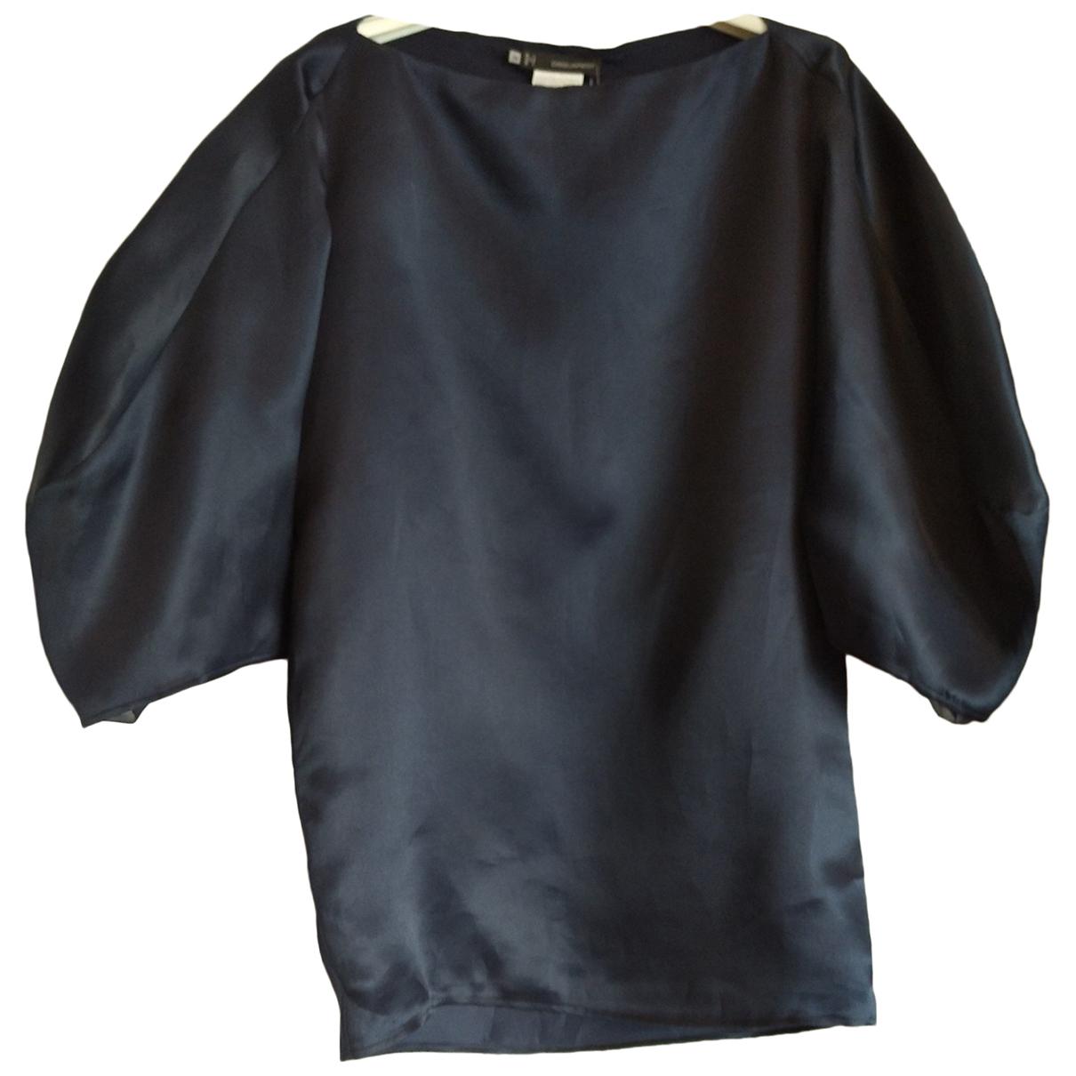 Dsquared2 - Top   pour femme en soie - marine