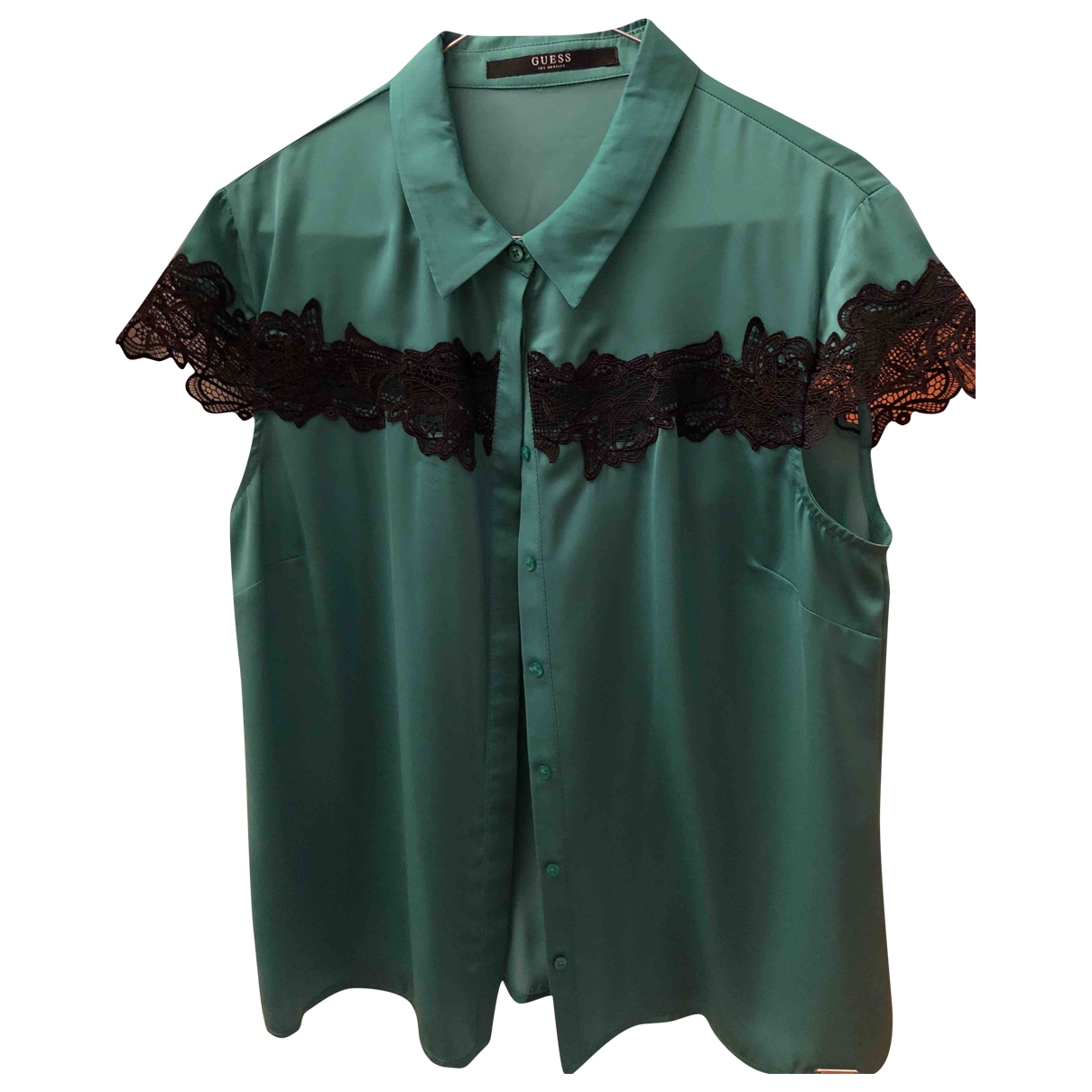 Guess \N Green  top for Women 42 IT