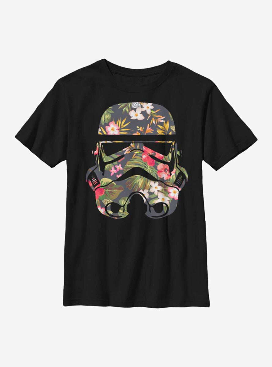 Star Wars Storm Flowers Youth T-Shirt