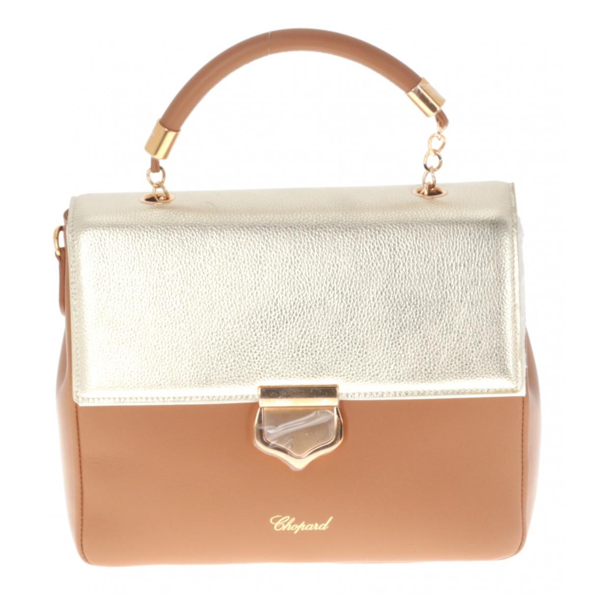 Chopard N Beige Leather handbag for Women N