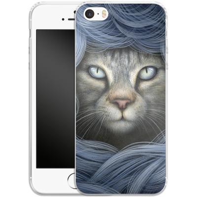 Apple iPhone 5 Silikon Handyhuelle - Ripple von Dan May