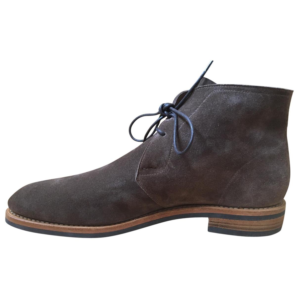 Heschung \N Stiefel in  Braun Leder