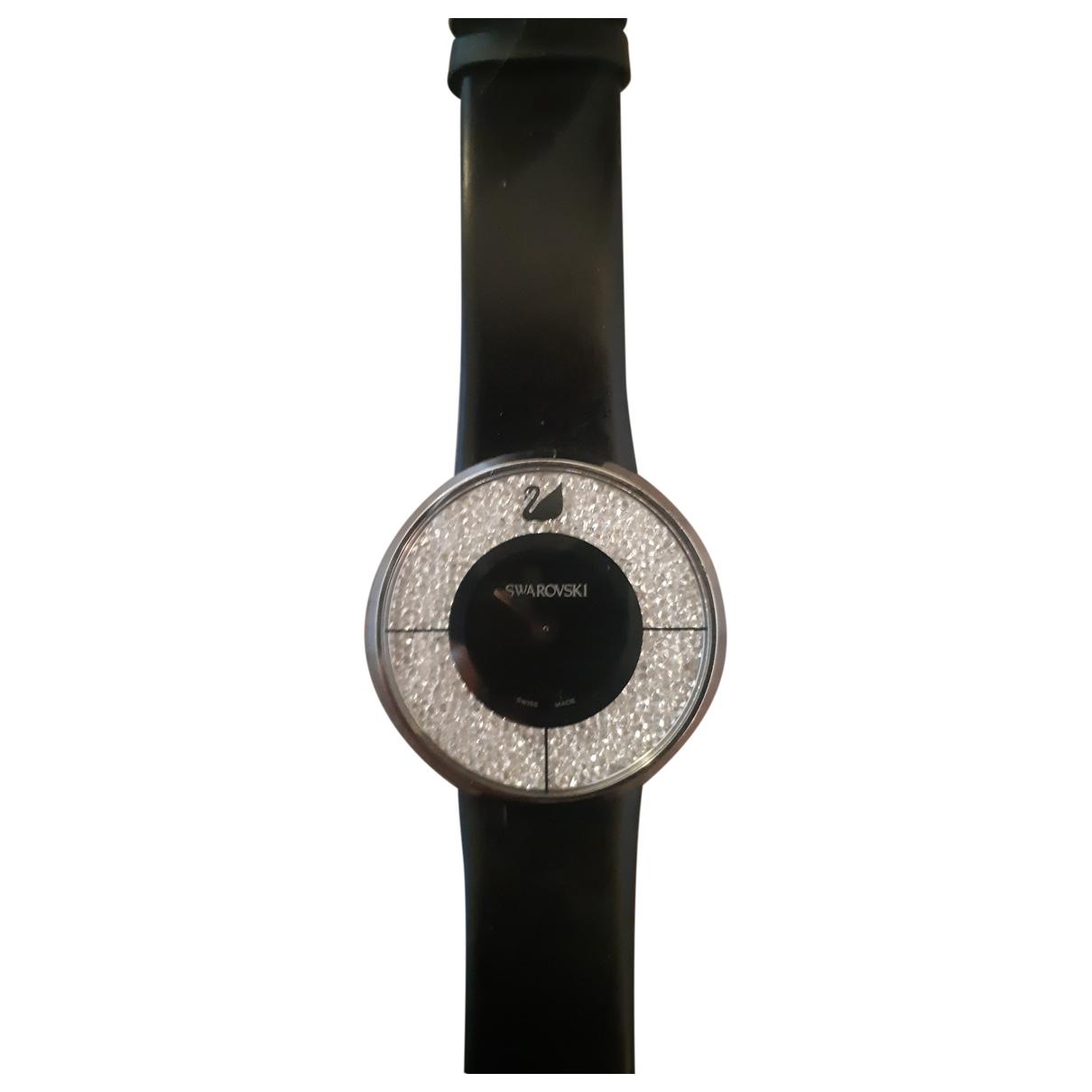 Swarovski - Montre   pour femme en acier - noir