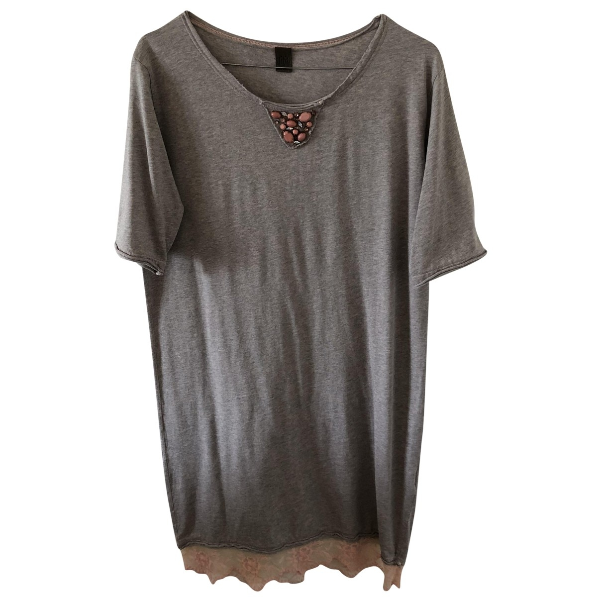 Jijil \N Grey Cotton dress for Women S International