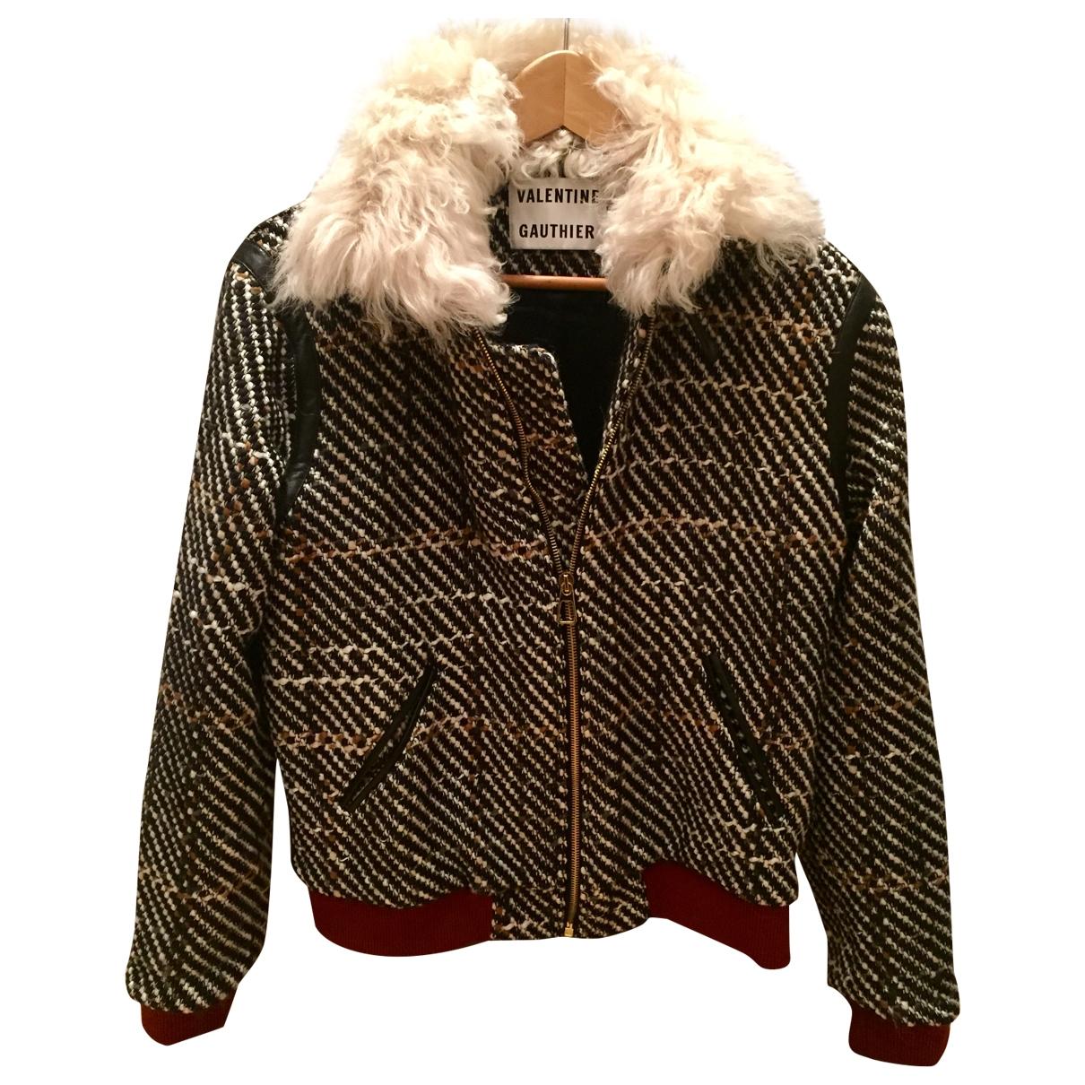 Valentine Gauthier - Blouson   pour femme en laine - multicolore