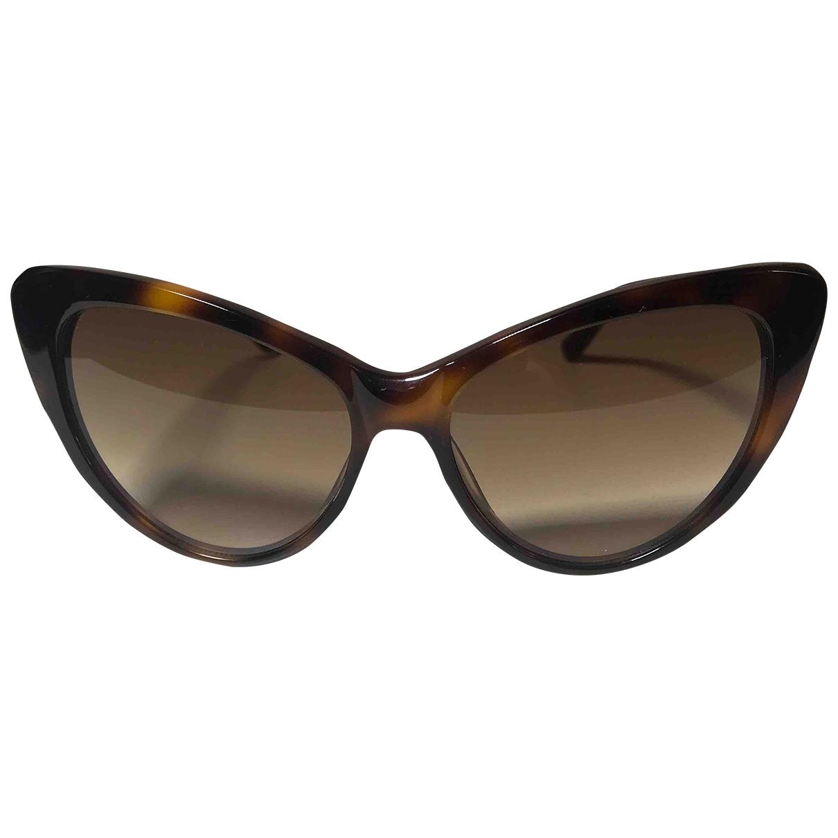 Spektre \N Sonnenbrillen in  Braun Kunststoff