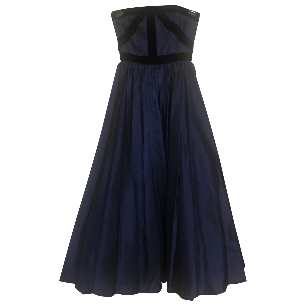 Escada \N Kleid in  Blau Synthetik