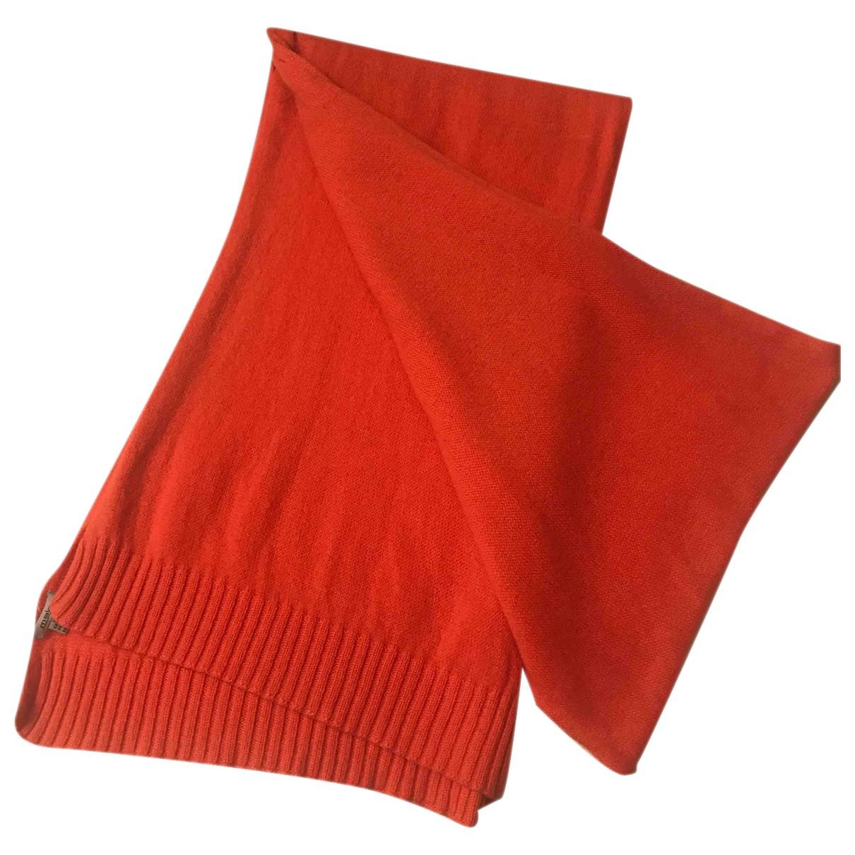 Malo \N Orange Cashmere scarf for Women \N