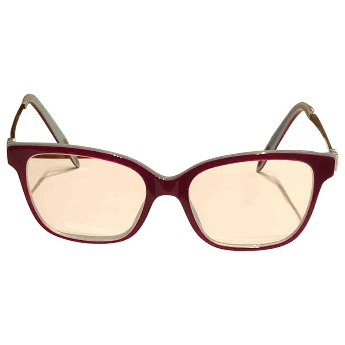 Tiffany & Co \N Sonnenbrillen in  Rot Metall