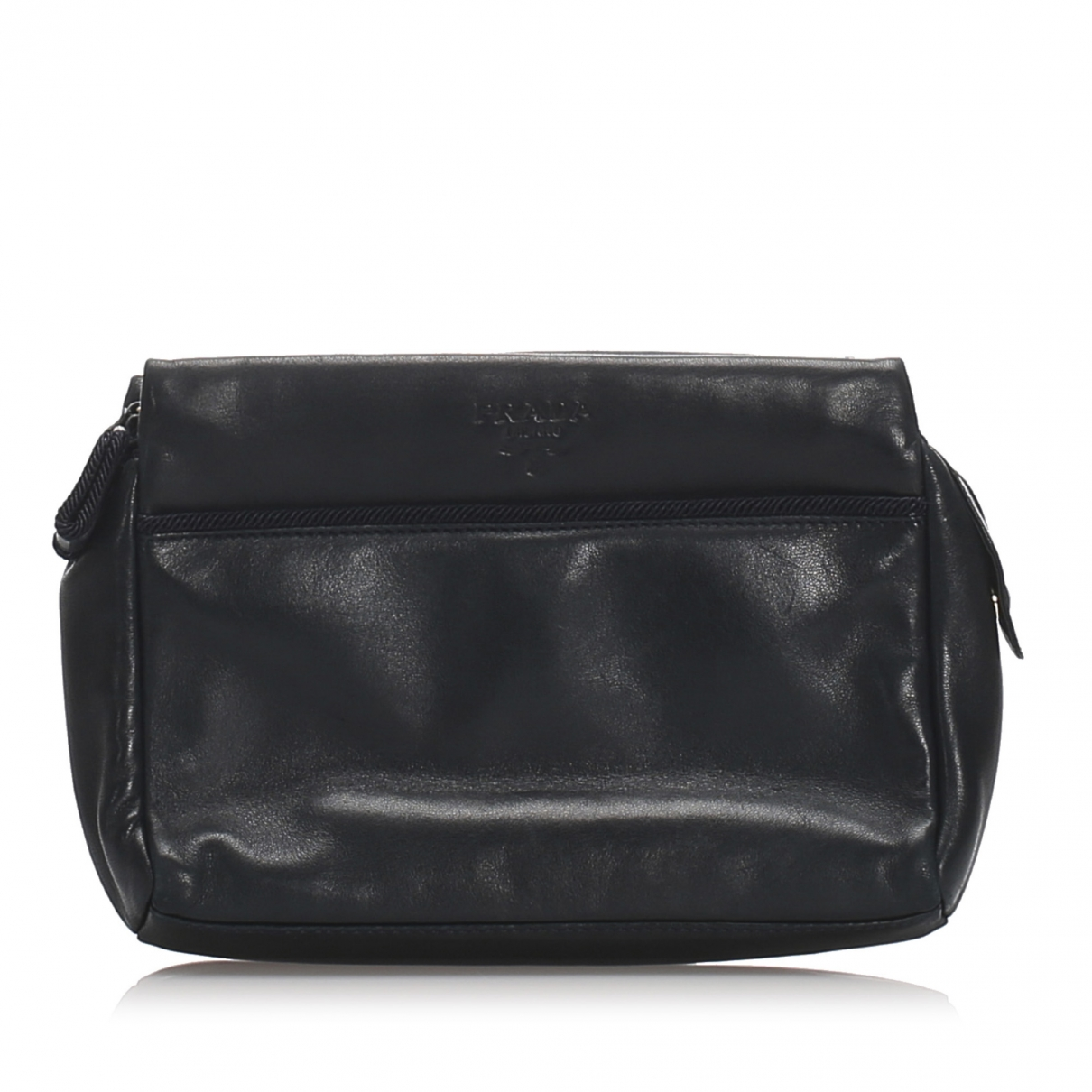 Prada \N Black Leather Clutch bag for Women \N