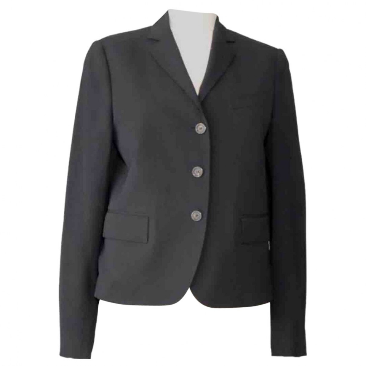 Gucci \N Black Wool jacket for Women 42 IT