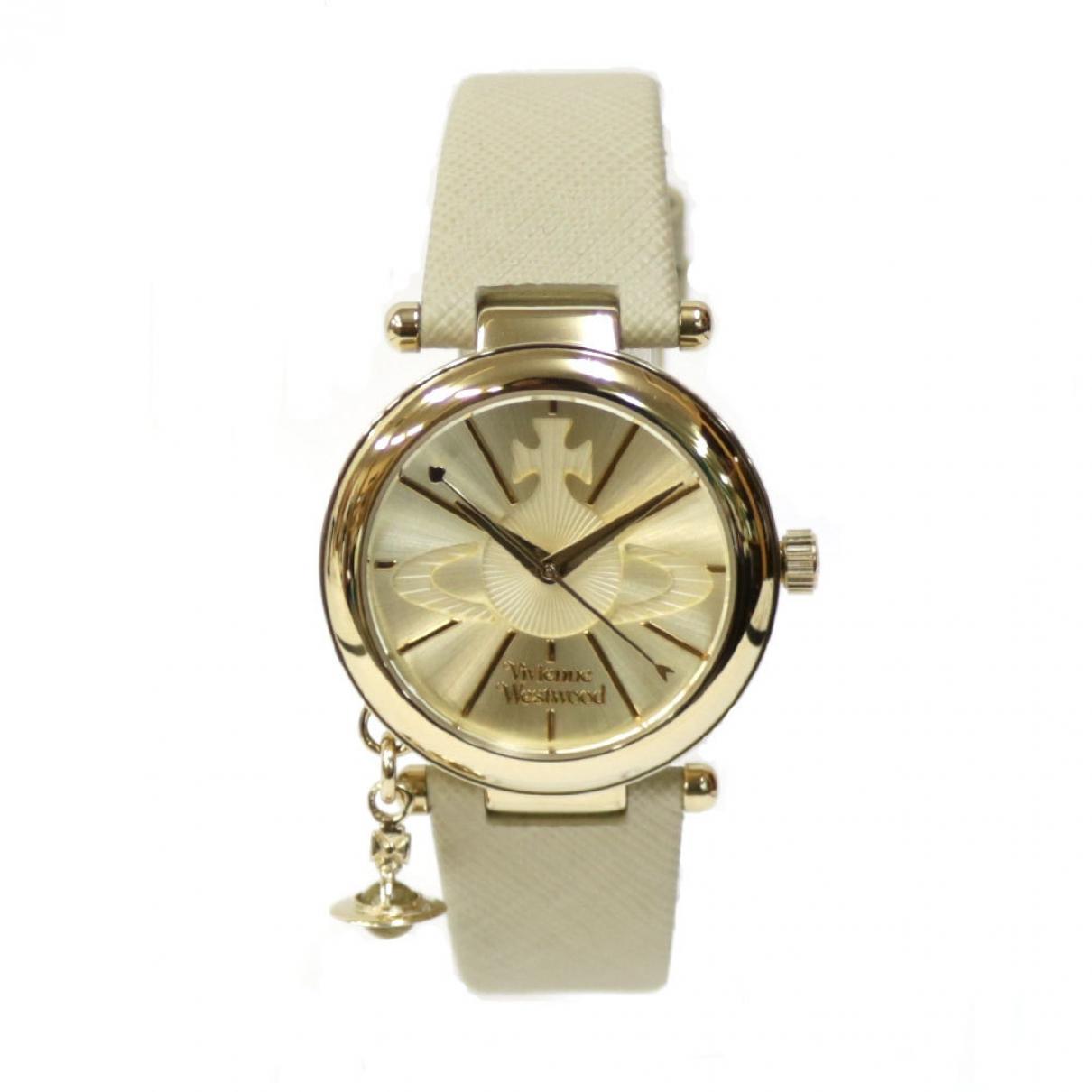 Vivienne Westwood \N Uhr in  Gold Stahl