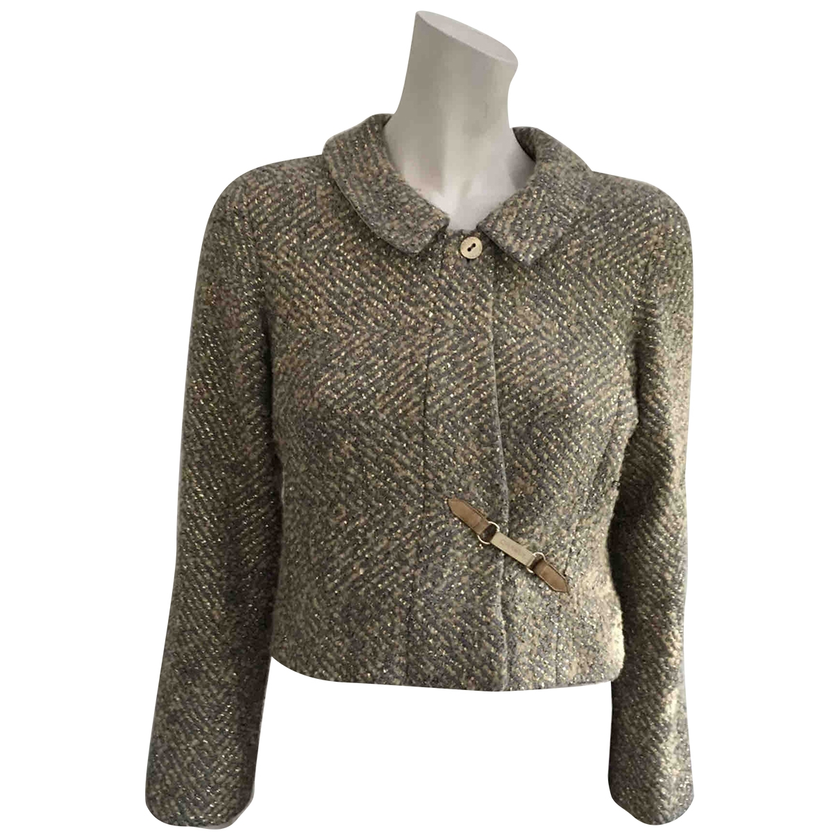 Chanel \N Gold Wool jacket for Women 38 FR