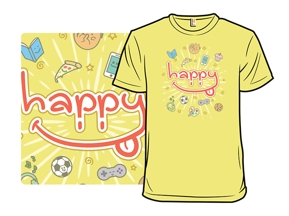This Is My Happy Shirt! T Shirt
