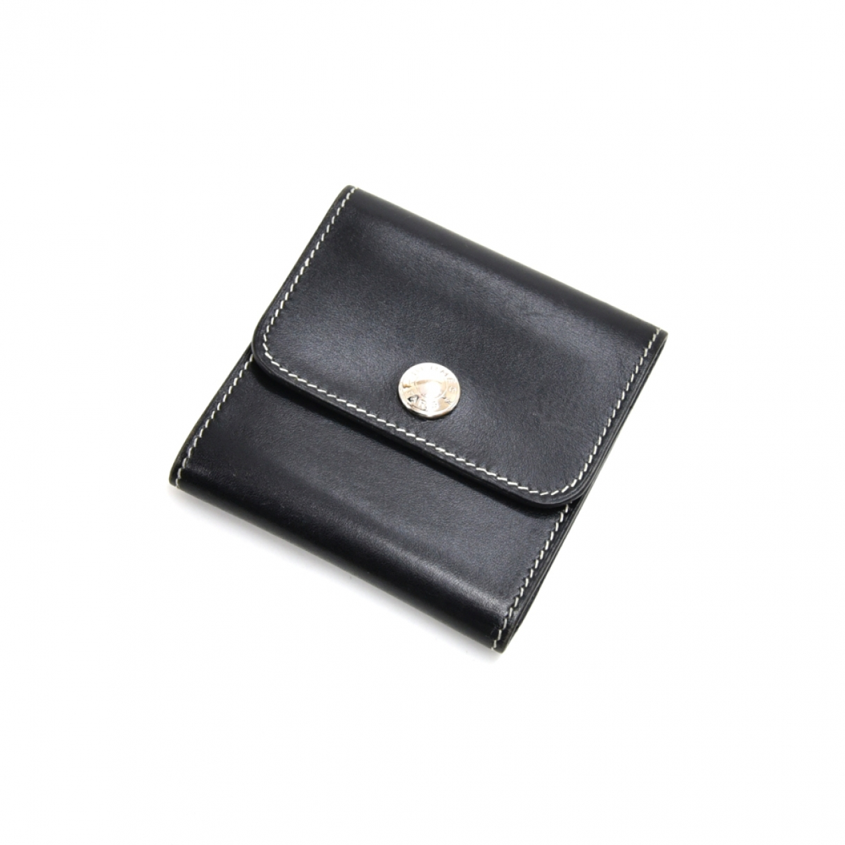 Hermès \N Black Leather Purses, wallet & cases for Women \N
