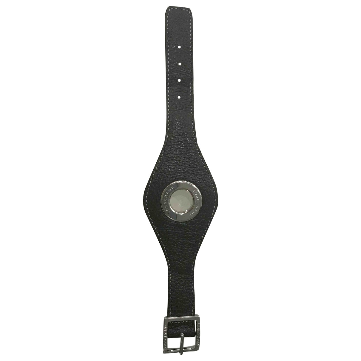 Longchamp \N Armband in  Braun Leder