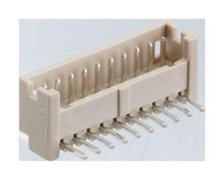 Hirose , DF13, 4 Way, 1 Row, Right Angle PCB Header