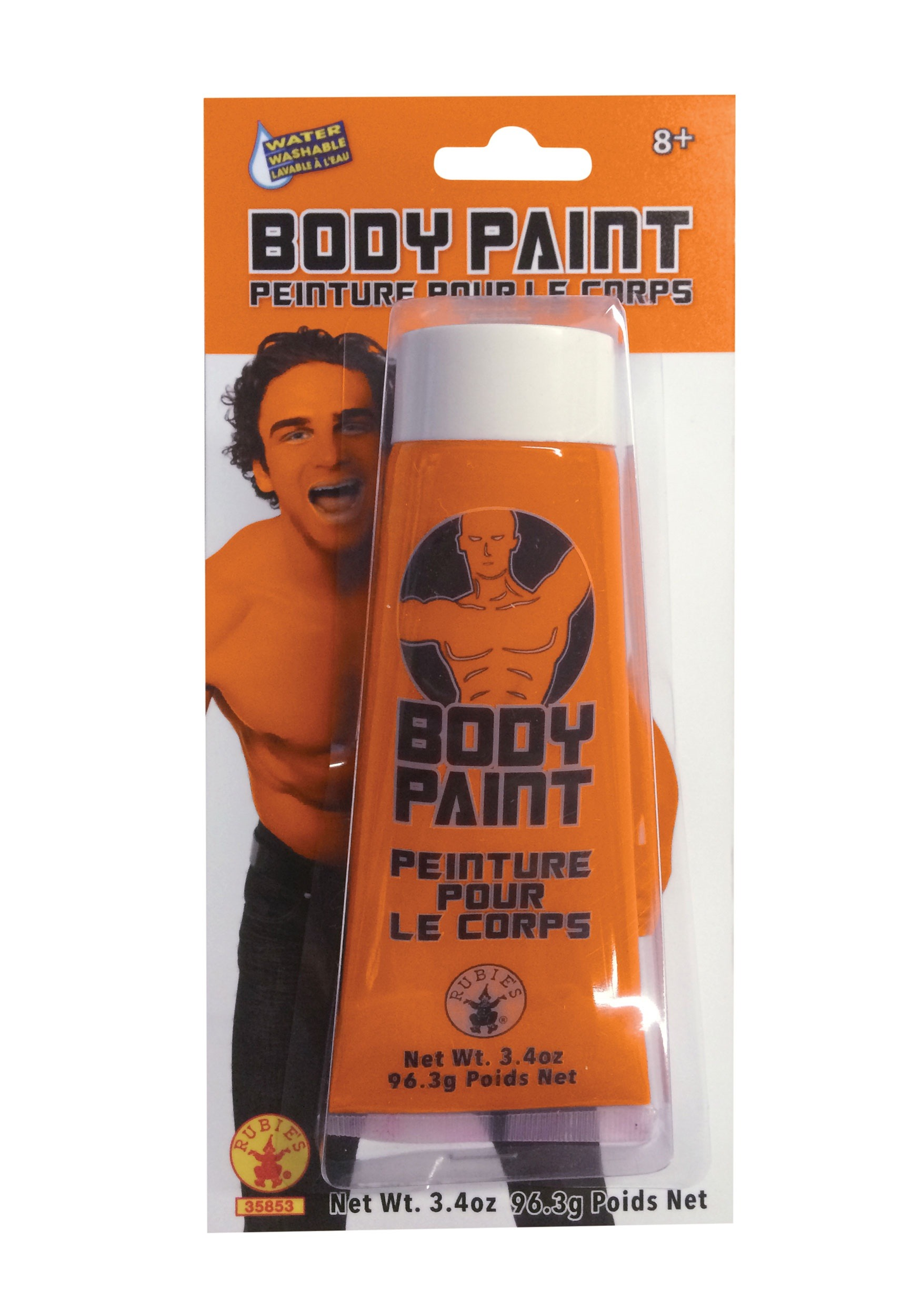 Rubies Orange Body Paint