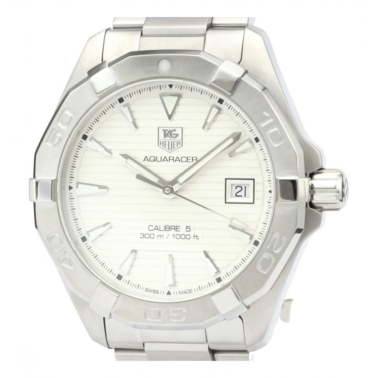 Tag Heuer Aquaracer  Silver Steel watch for Men N