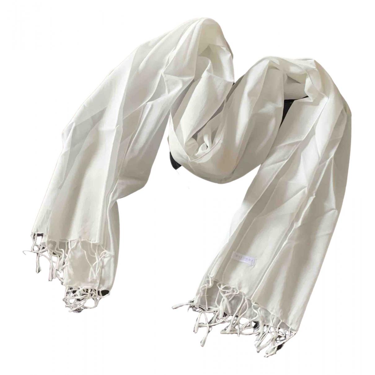 Bvlgari \N Yellow Cotton scarf & pocket squares for Men \N
