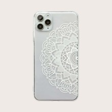 Lotus Muster iPhone Huelle