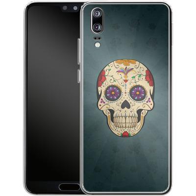 Huawei P20 Silikon Handyhuelle - Dia de Muertos von SONY