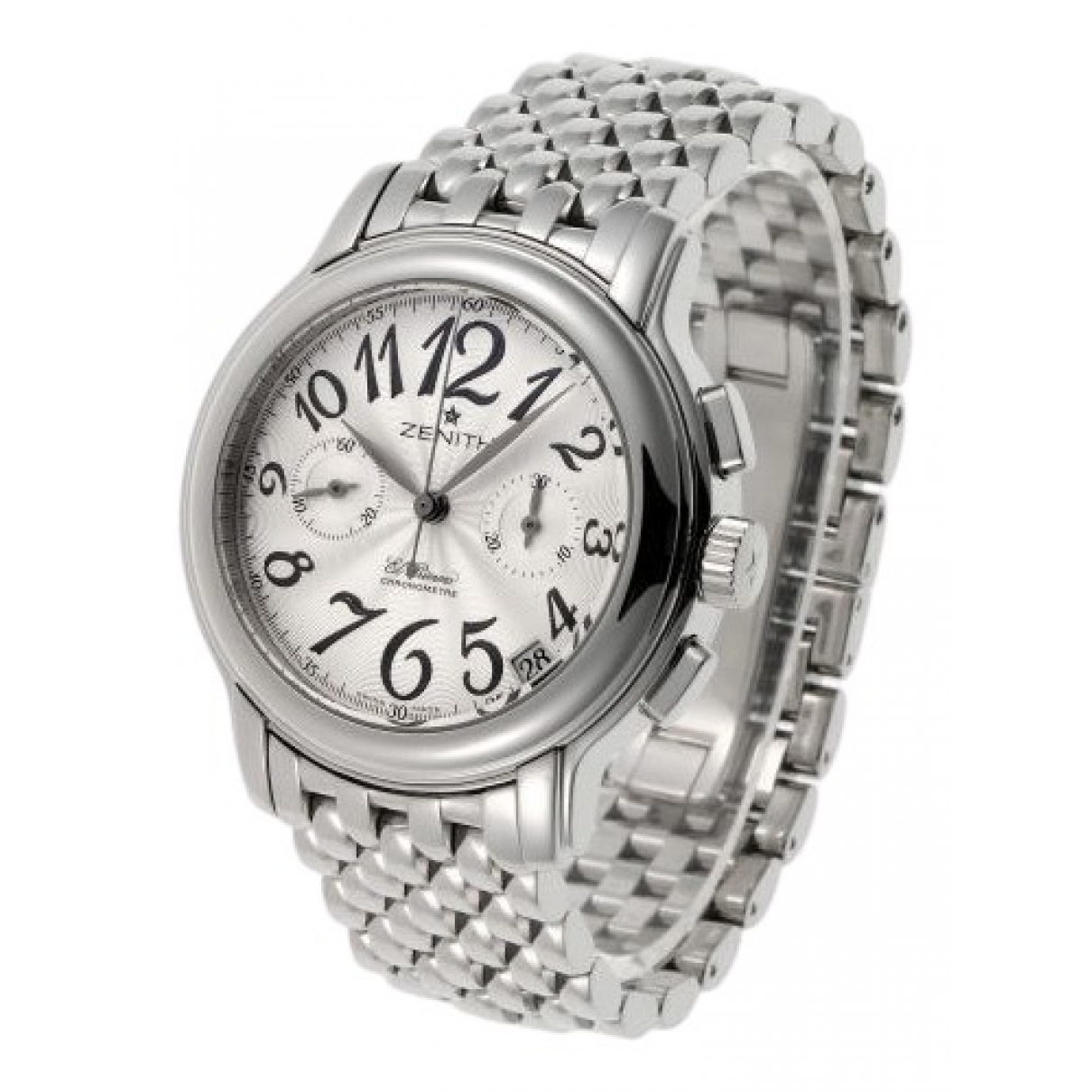 Zenith El Primero  Silver Steel watch for Men \N