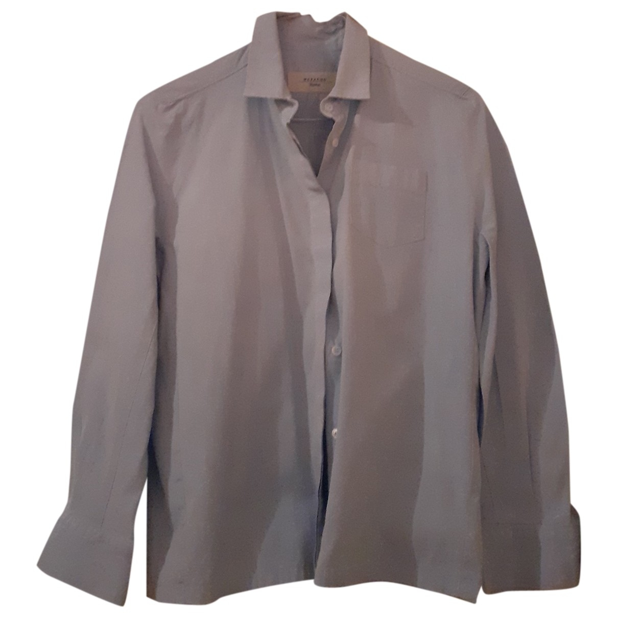 Max Mara Weekend \N Top in  Blau Baumwolle