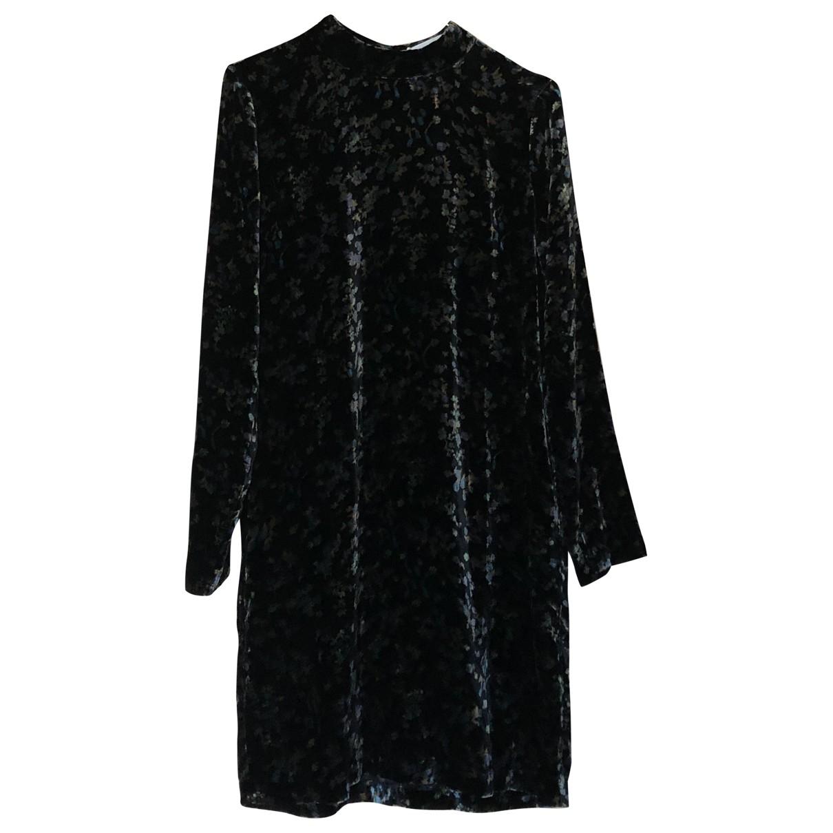 Samsoe & Samsoe - Robe   pour femme en velours - multicolore