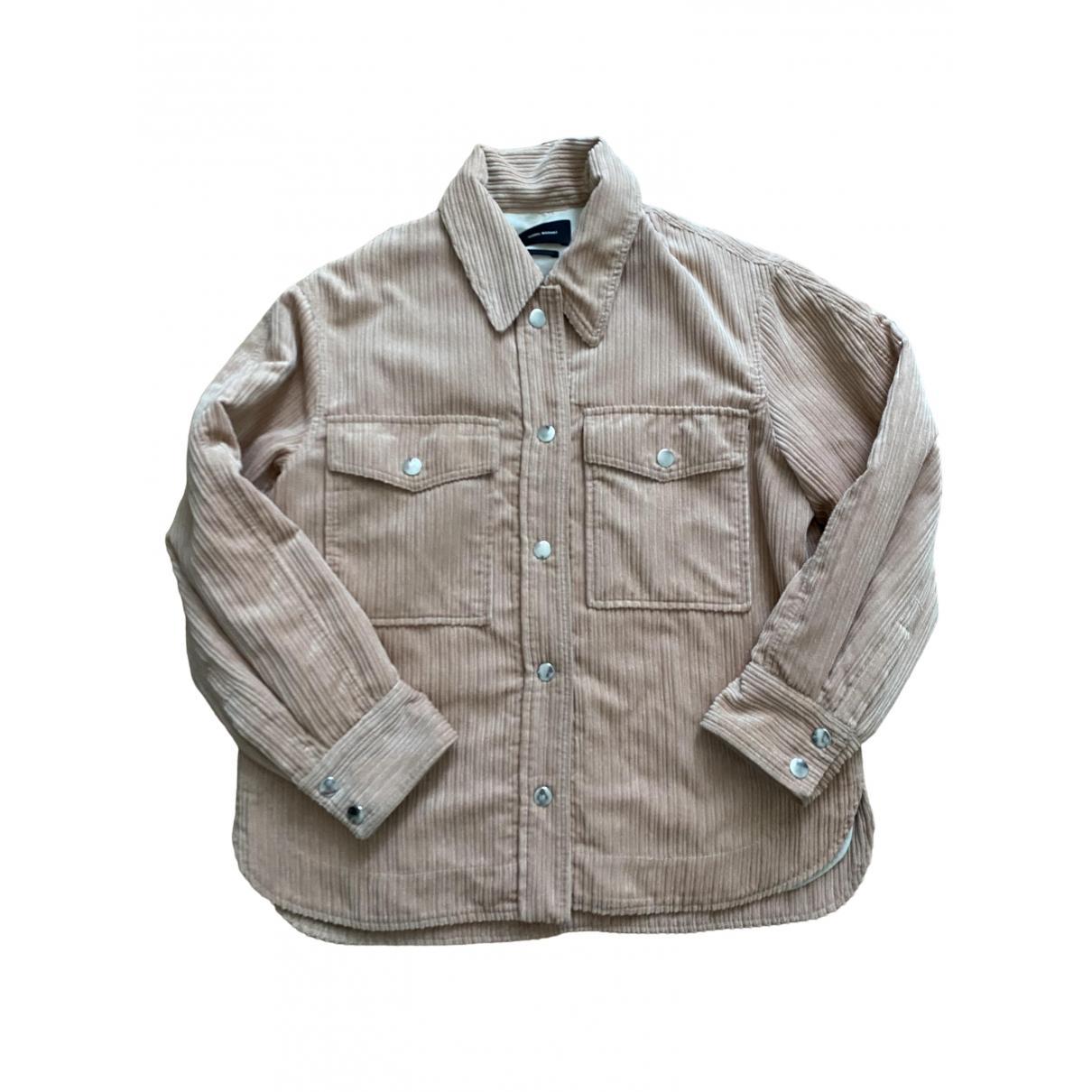 Isabel Marant \N Pink Cotton jacket for Women 36 FR