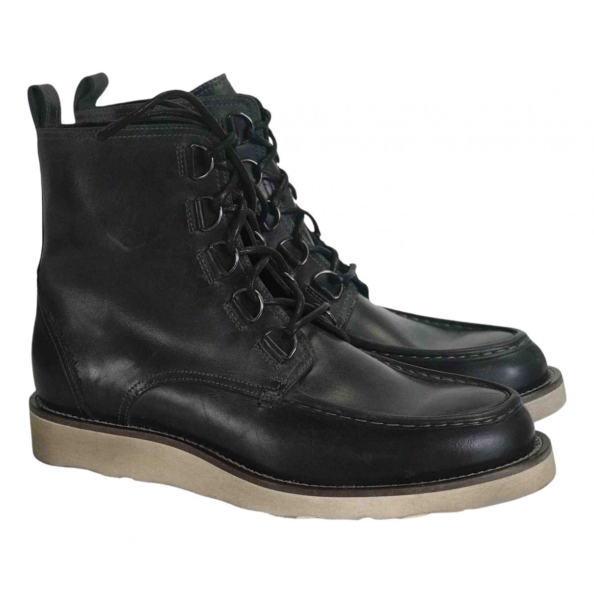 Belstaff \N Brown Leather Boots for Men 42 EU
