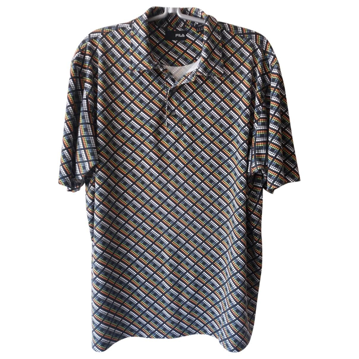 Fila \N T-Shirts in  Bunt Synthetik