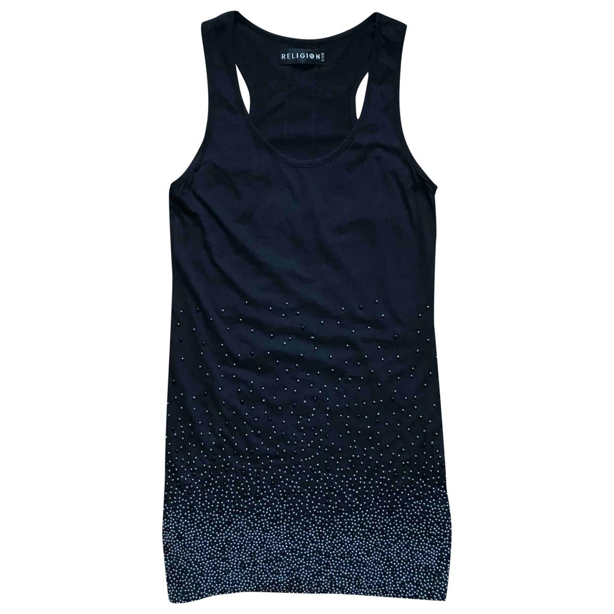 Religion \N Black Cotton dress for Women S International