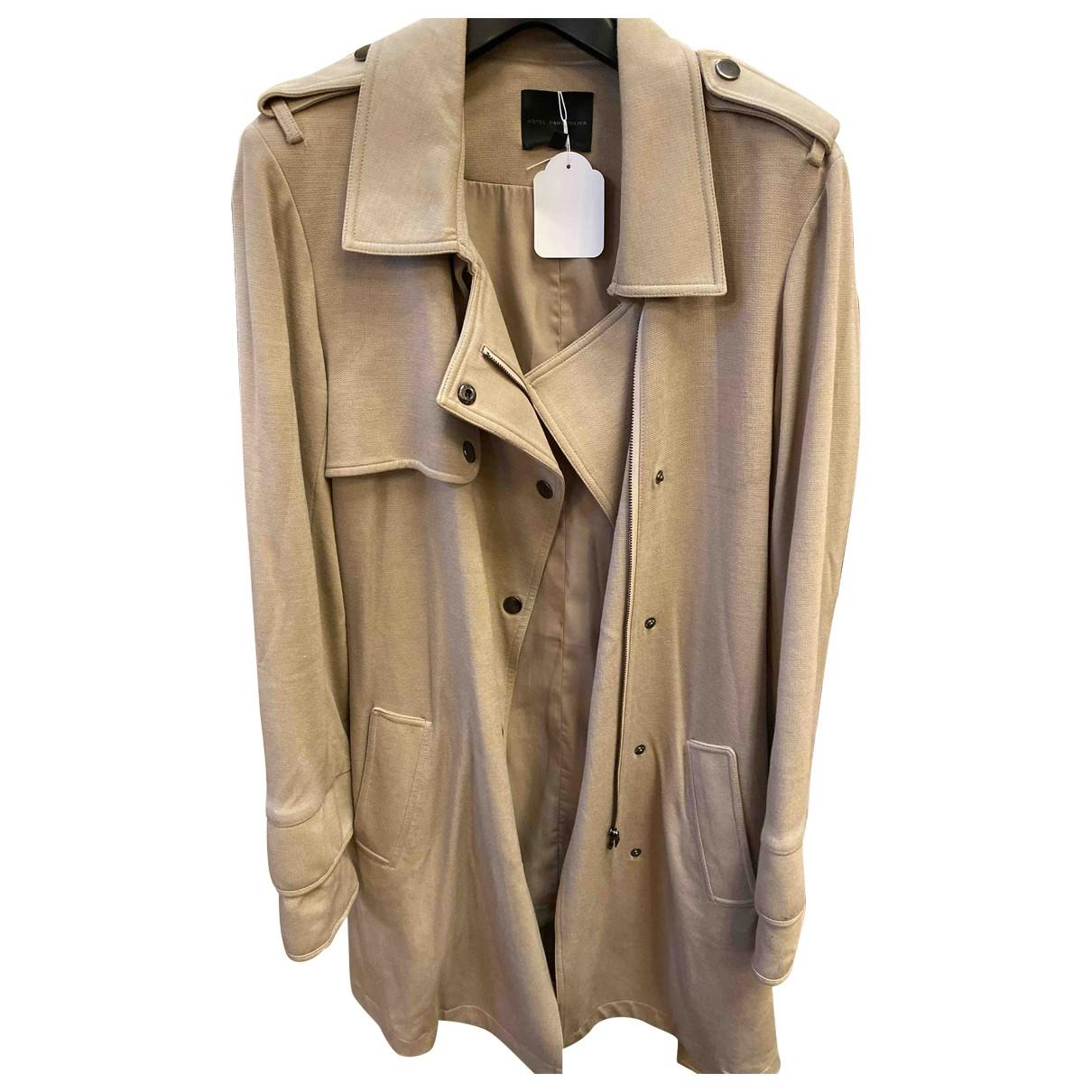 Hôtel Particulier \N Beige coat for Women 40 FR