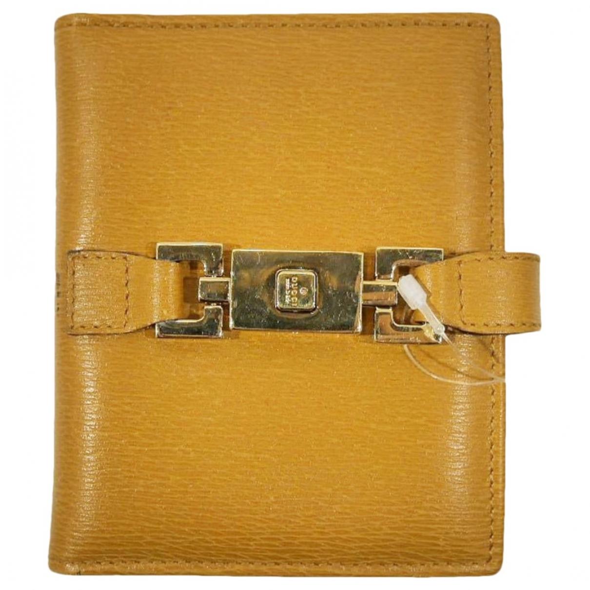 Gucci - Objets & Deco   pour lifestyle en cuir - camel