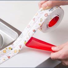 1 Stueck Wasserdichtes Spaltband mit Obst Muster
