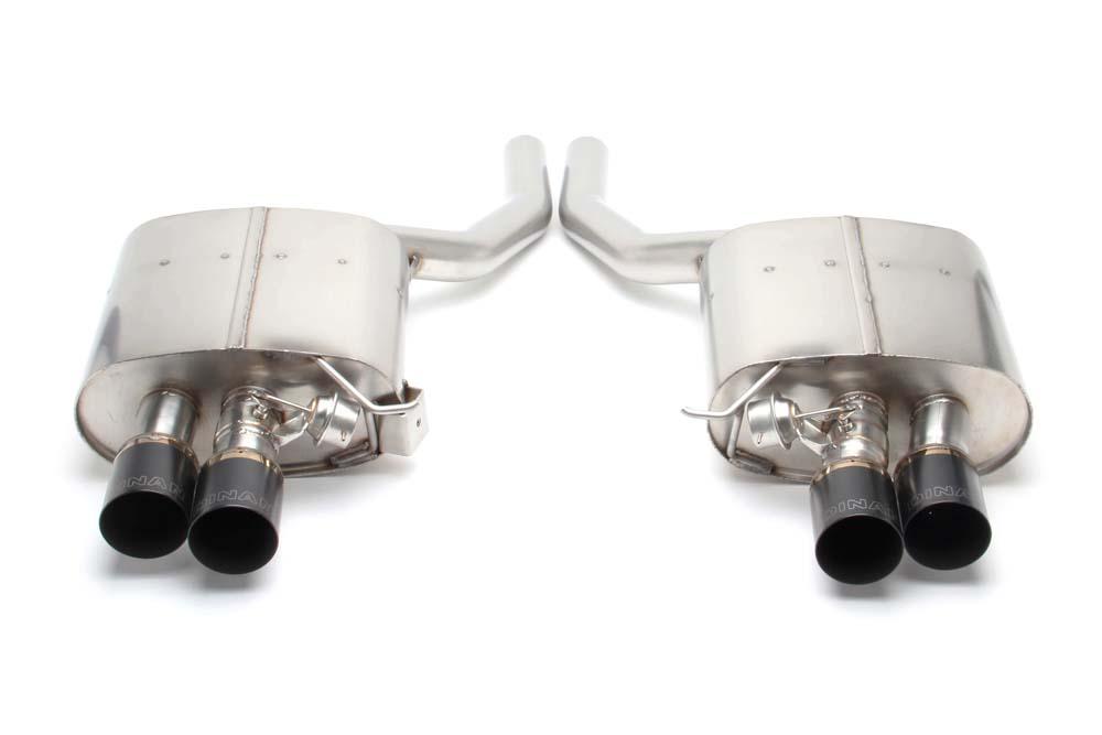 Dinan D660-0036-BLK Stainless Exhaust BMW 550i F10 11-15