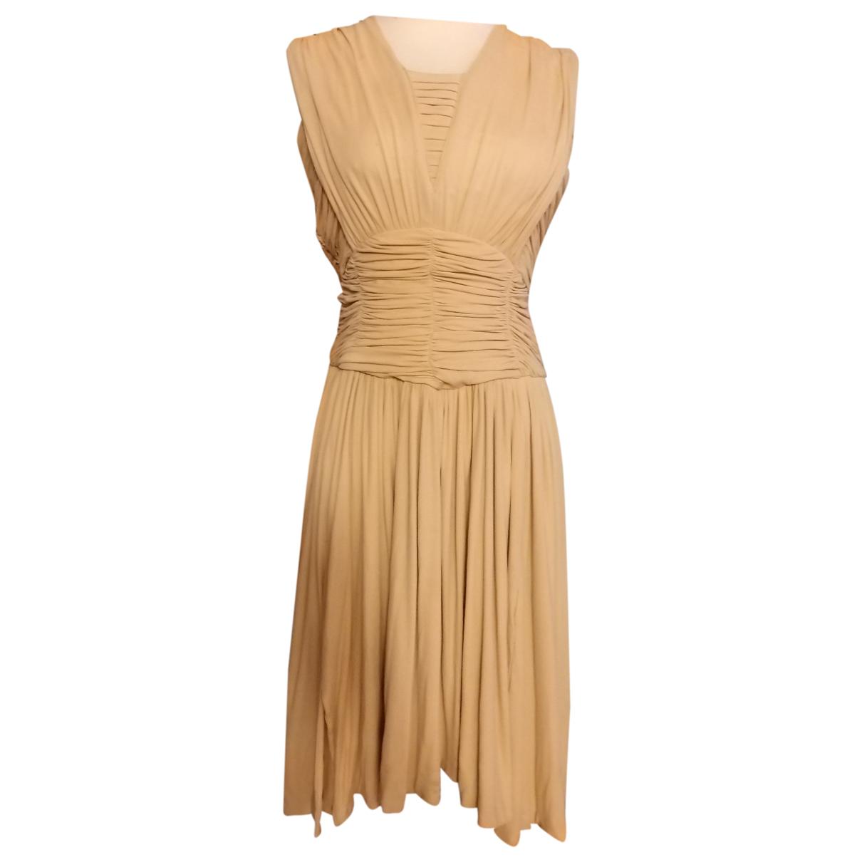 Balmain - Robe   pour femme - beige