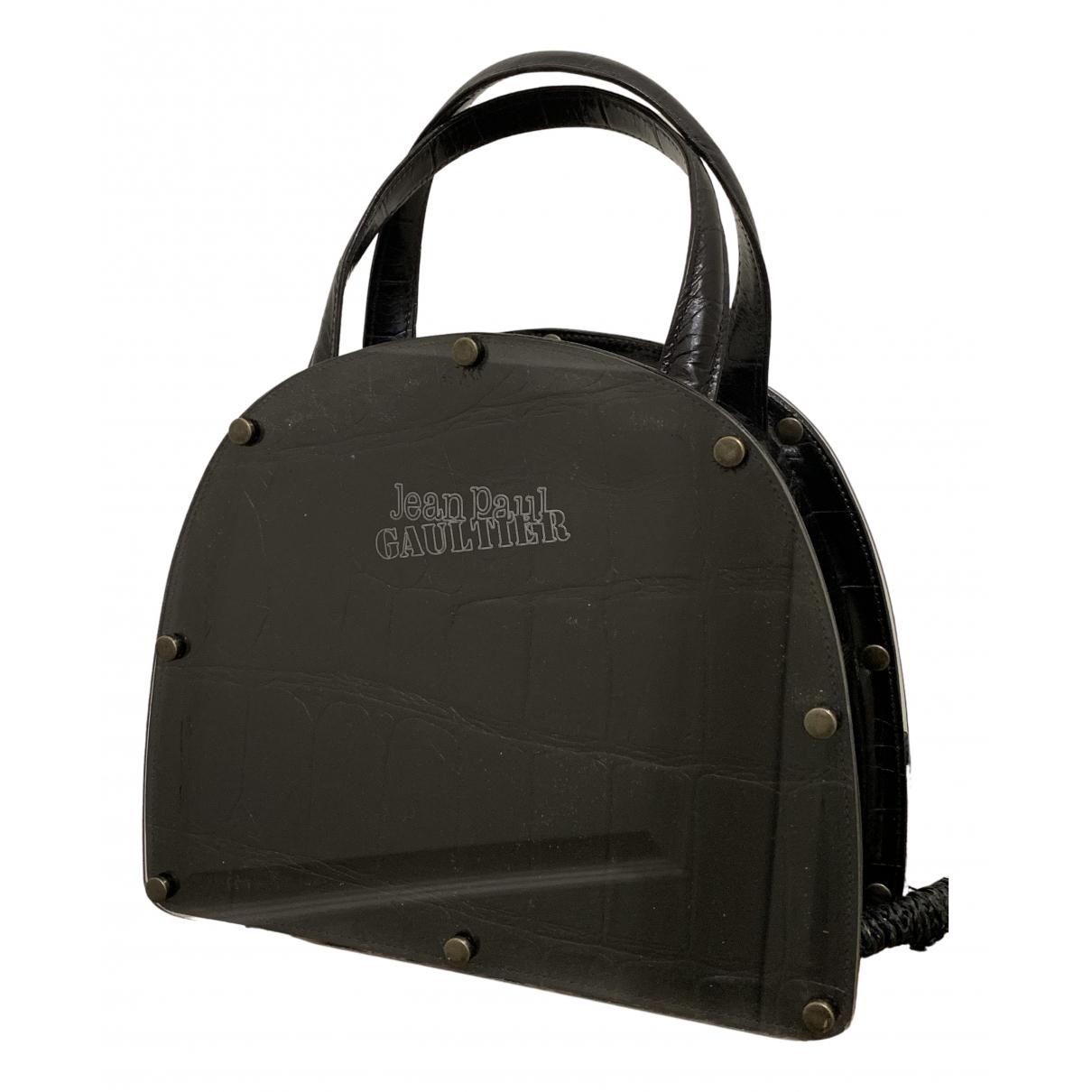 Jean Paul Gaultier \N Black Leather handbag for Women \N