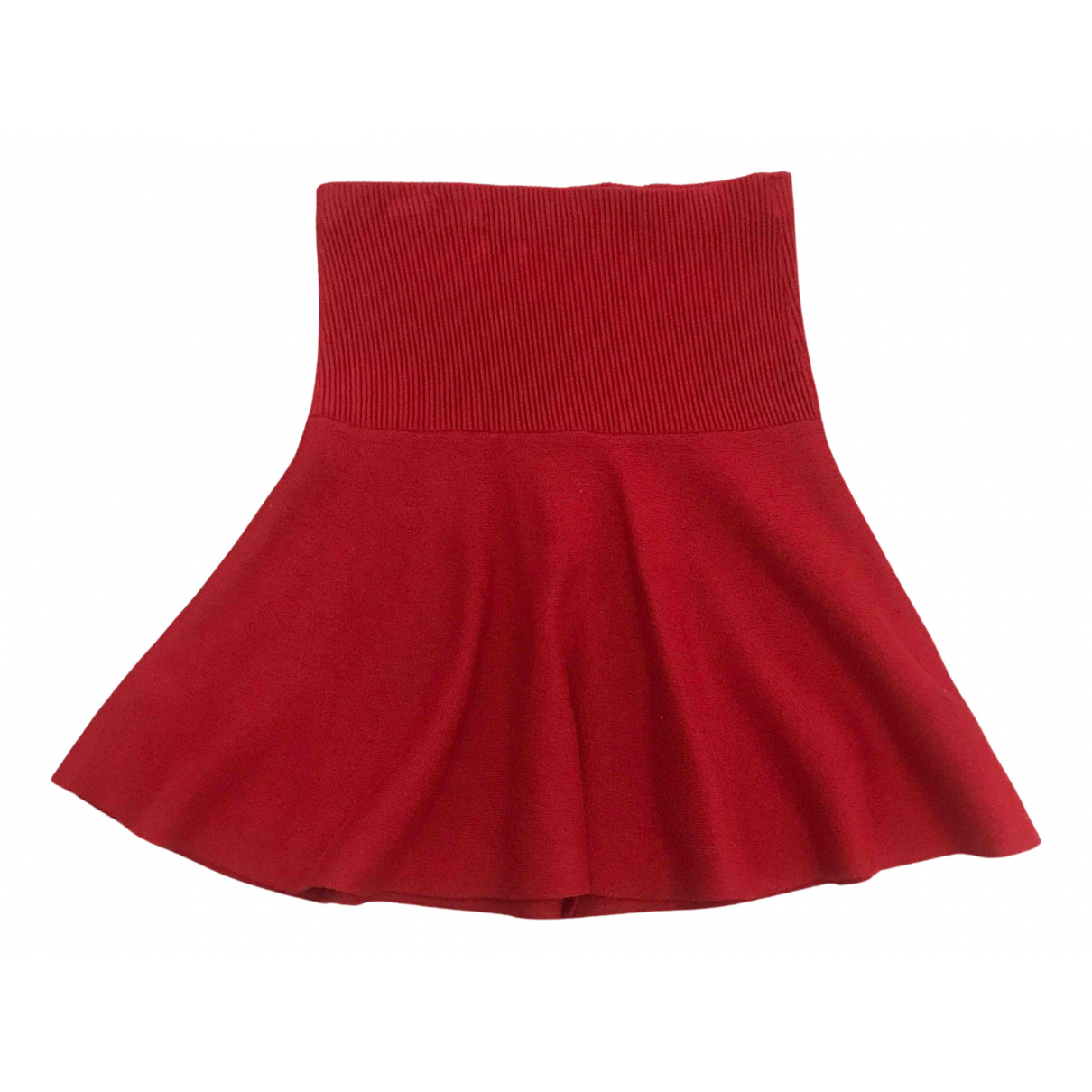 Zara \N Rocke in  Rot Wolle