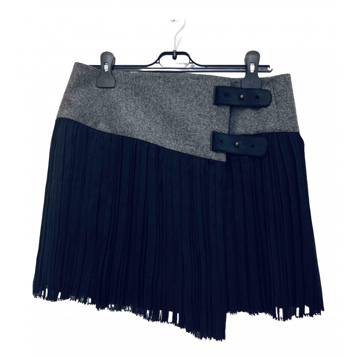 Rag & Bone \N Grey Wool skirt for Women 4 US
