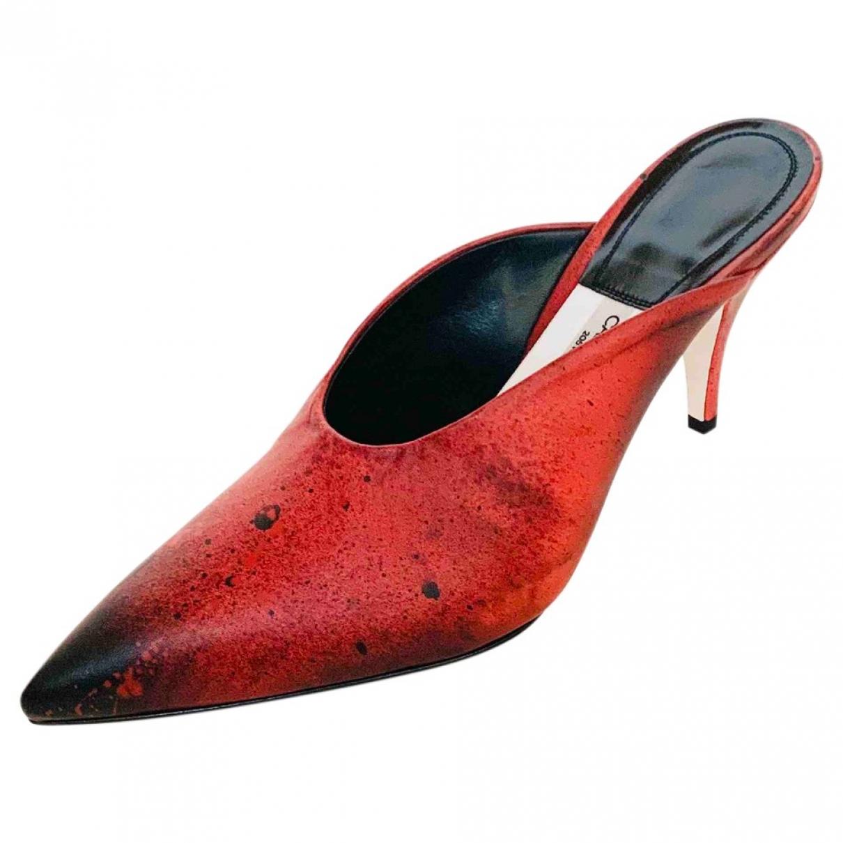 Calvin Klein 205w39nyc - Sandales   pour femme en cuir