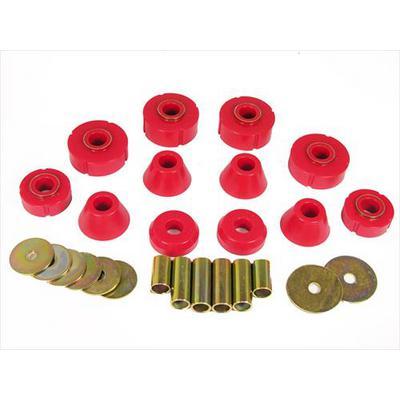 Prothane Motion Control Body Mount Kit (Red) - 7-101