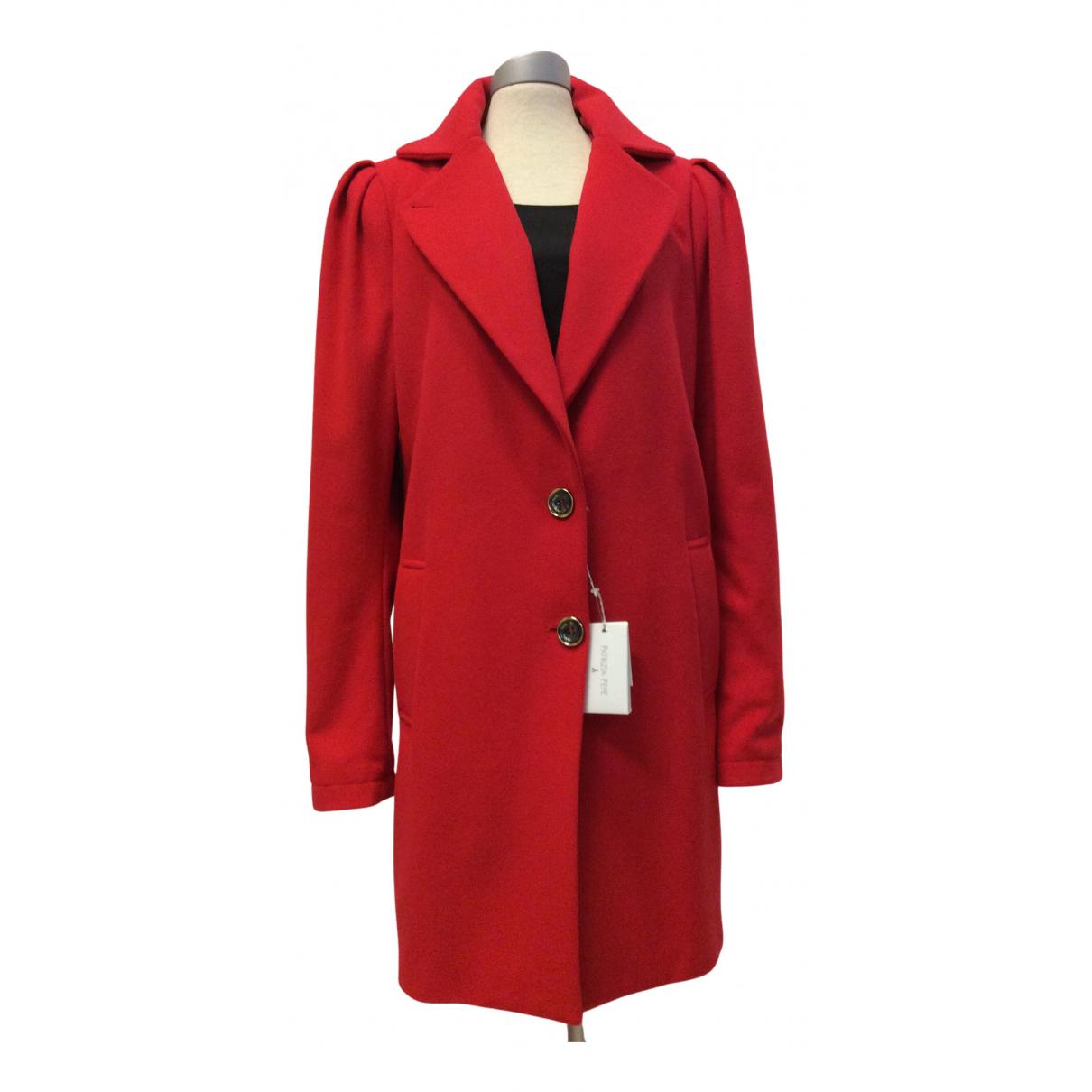 Patrizia Pepe \N Maentel in  Rot Wolle
